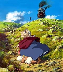 Granny climbing a hill.